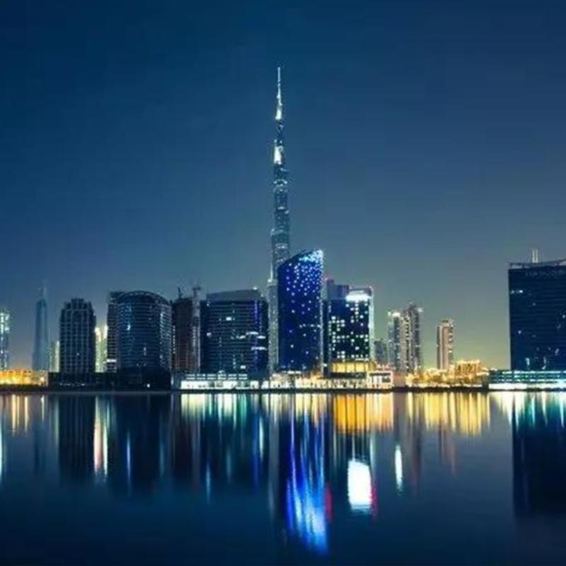 迪拜城市亮化工程案例
